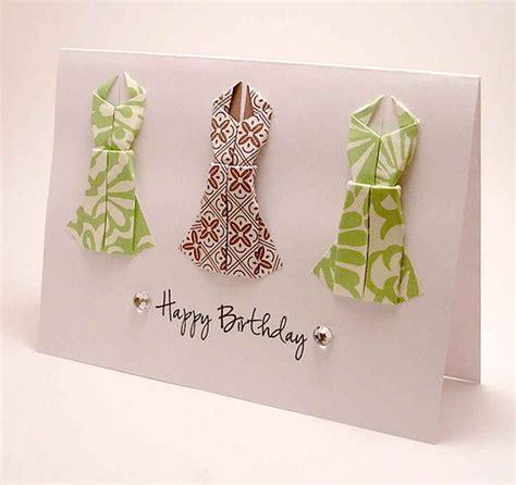 origami birthday card origami dress birthday card flickr photo