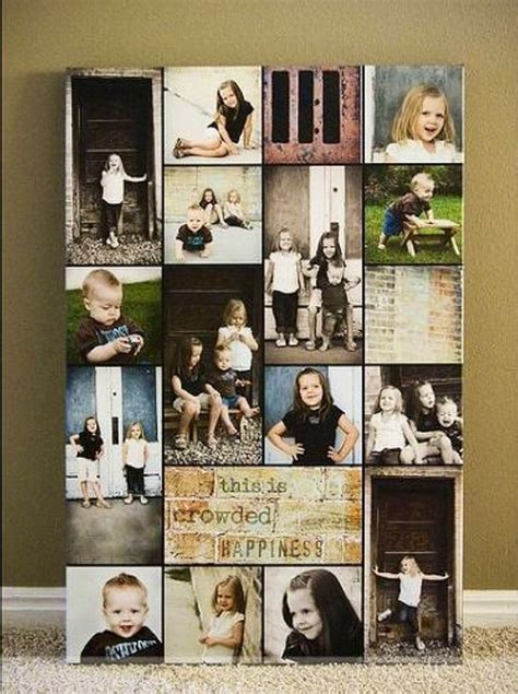 best 25 photo collage canvas ideas on photo
