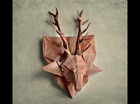 origami deer diagram origami deer
