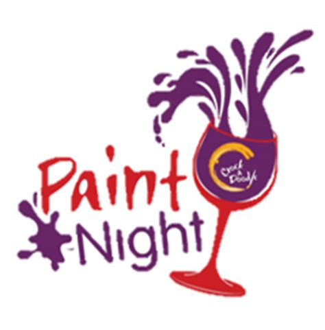 paint nite logo paint at the clock tower strathroy