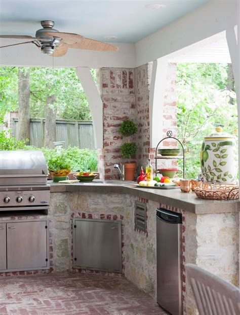 back yard kitchen ideas 27 best outdoor kitchen ideas and designs for 2017