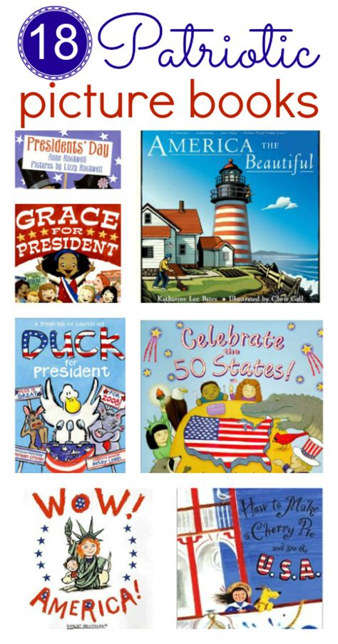 picture books with theme patriotic picture books for 4th of july no time for