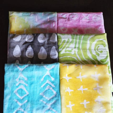 acrylic paint as fabric dye make design your own textiles