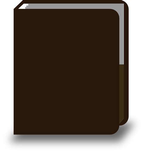 brown book pictures brown book book clip at clker vector clip