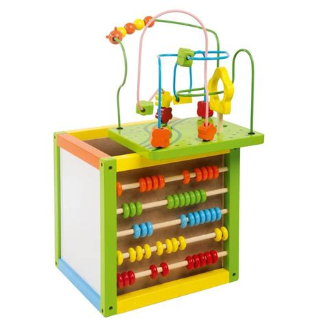 bead maze wooden bead maze cube with abacus by leomark new ebay