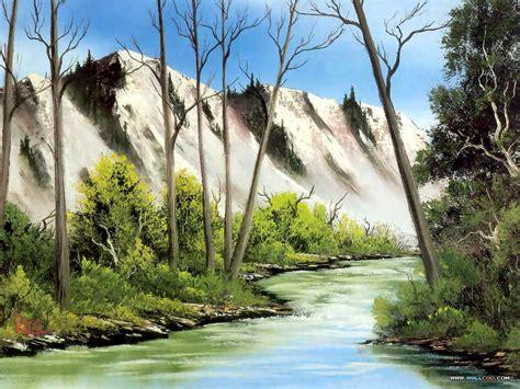 bob ross painting free bob ross on bob ross paintings landscape