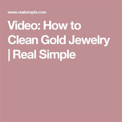 how to make jewelry cleaner for gold 1000 ideas about clean gold jewelry on