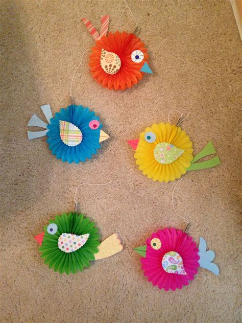 bird crafts for made these boho birds to match the classroom bulletin