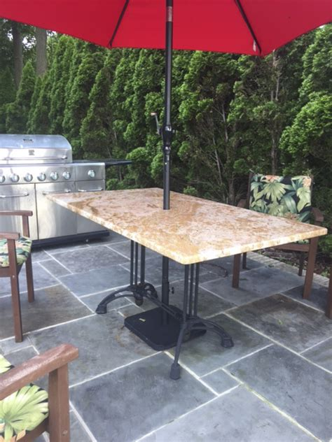 granite patio tables custom granite patio table with our bruni 2 x 2