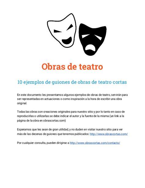 obras de teatro cortas de risa 10 guiones de obras de teatro cortas ejemplos gratis