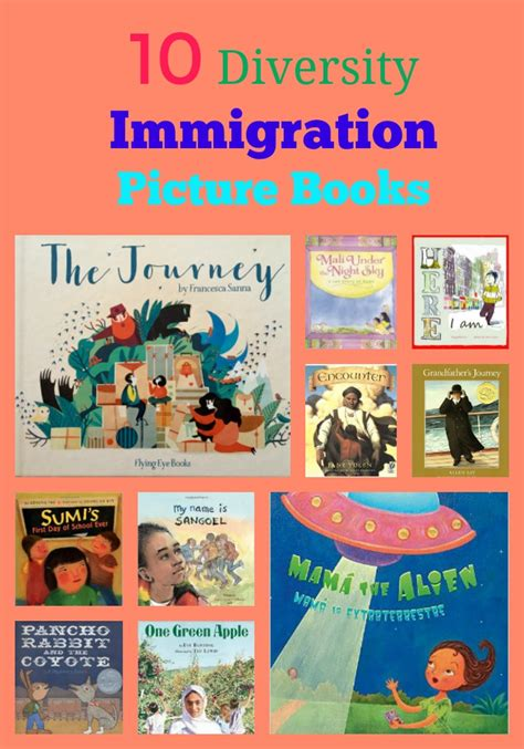 immigration picture books 100 must read diversity picture books pragmaticmom