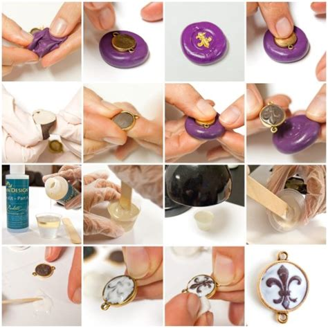 where to buy things to make jewelry make these sculpted relief epoxy clay and resin pendants