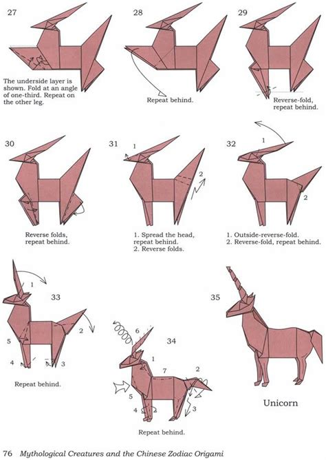how to fold an origami how to fold an origami unicorn diy tibet