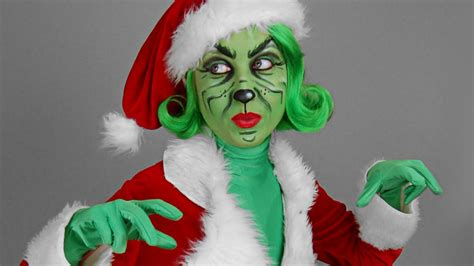 grinch up quot the grinch quot make up tutorial
