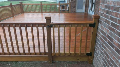 woodworking okc wood deck in okc by riemer and riemer and