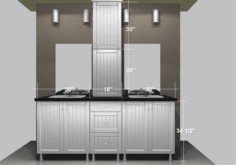kitchen cabinets as bathroom vanity ikea bathroom vanities a linen closet on the countertop