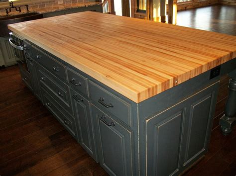 kitchen island butcher block tops borders kitchen solid american hardwood island with