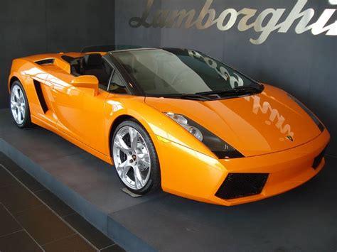 Car Wallpaper Orang by Hd Car Wallpapers Lamborghini Gallardo Spyder Orange