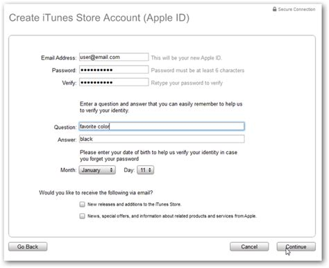 make an itunes account without a credit card create an itunes account without a credit card