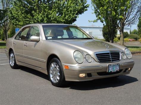 2000 Mercedes E320 4matic by 2000 Mercedes E320 4matic Awd 6cyl Sedan