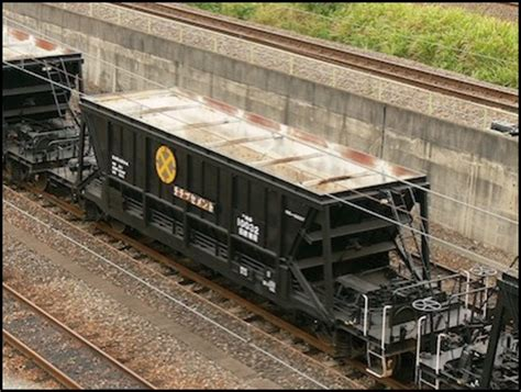 Car Dumper Frozen Coal by Freight Cars