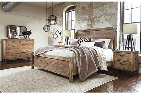 furniture homestore bedroom sets the fanzere panel bed from furniture homestore