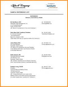 4 how to format a reference list parts of resume