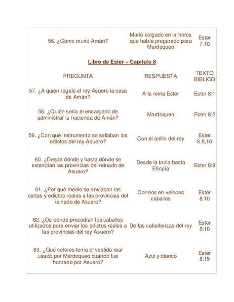 preguntas biblicas con respuestas pdf cuestionario de los capitulos del libro de ester