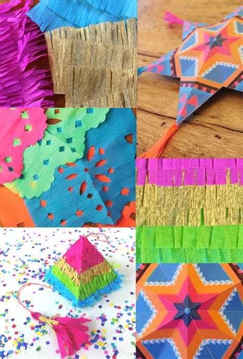 mexican crafts for 4 and easy to make mexican paper craft decorations