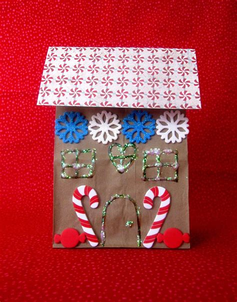 paper bag gingerbread house craft gingerbread storytime sturdy for common things