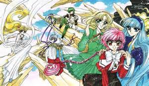 magic rayearth magic rayearth anime guys yes with a