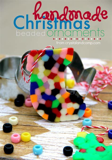 handmade beaded ornaments crystalandcomp