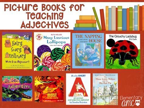 teaching theme with picture books unpack your adjectives books and activities to teach