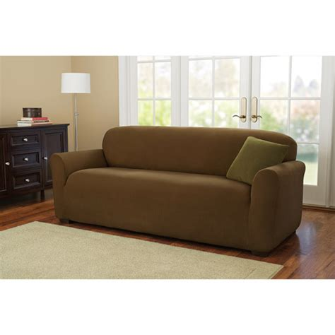 sofa slipcover walmart better homes and gardens one stretch corduroy