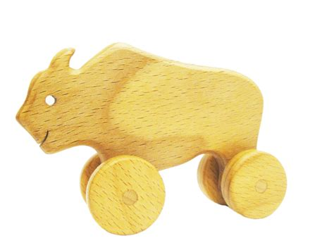 wooden for toddlers rolling buffalo learning for toddlers wooden