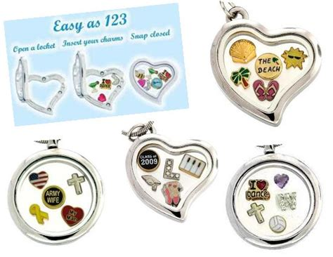 origami owl store locations floating charm lockets original store 1400 products