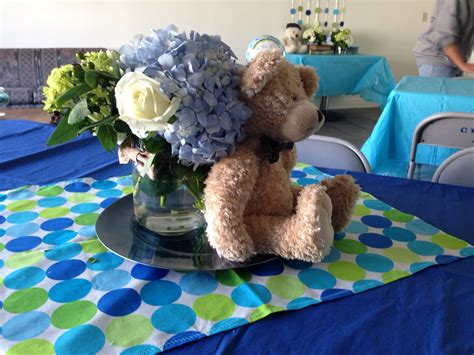 teddy centerpieces for baby shower centerpieces teddy bears and bow tie baby shower theme