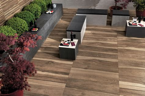 modern patio tiles wood look tile 17 distressed rustic modern ideas