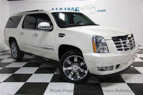 2012 Cadillac Escalade Esv by 2012 Used Cadillac Escalade Esv Luxury At Haims Motors Ft