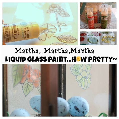 martha stewart craft projects martha stewart crafts glass paint liquid fill pretty