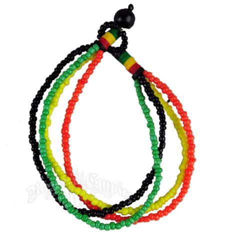 rasta bead bracelet rasta strand bead bracelet rastaempire