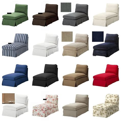 ikea ektorp free standing chaise longue slipcover cover idemo vellinge svanby ebay