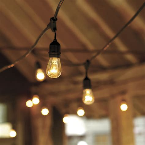 outdoor light string vintage string lights with bulbs industrial outdoor