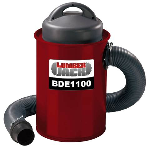 woodworking dust extractors lumberjack tools lumberjack bde1100 powerful 1100w 50l