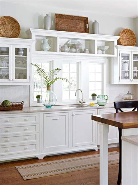 area above kitchen cabinets 10 ideas for decorating above kitchen cabinets