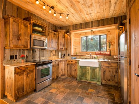 rustic cottage decor kitchen charming images of various rustic cabin kitchens