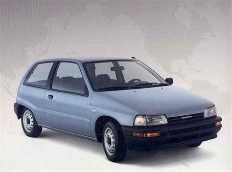 1988 Daihatsu Charade by 1988 Daihatsu Charade Information And Photos Momentcar