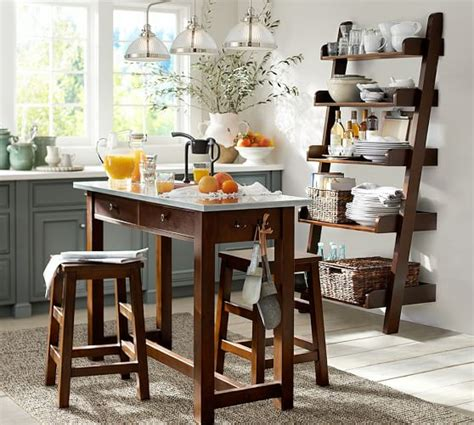 kitchen island table with chairs balboa counter height table stool 3 dining set pottery barn