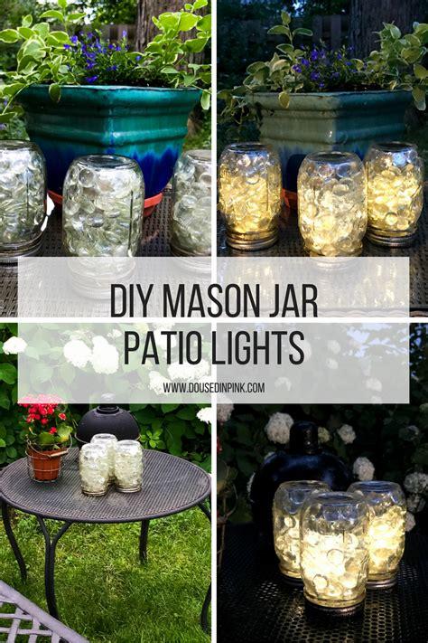 jar patio lights diy jar patio lights doused in pink chicago