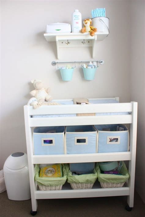 changing table storage ideas 25 best ideas about changing table storage on